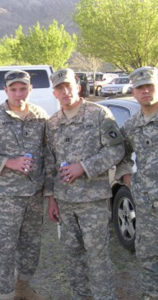 Photo of three men in Army uniforms