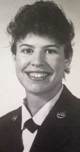 Photo of woman in Air Force uniform