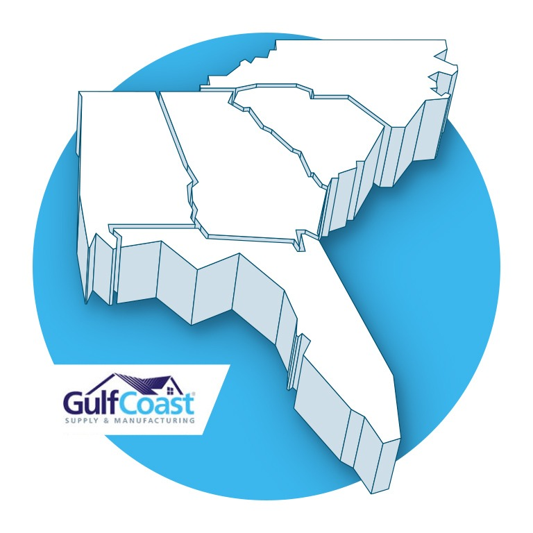 Gulf Coast Supply - Service Area
